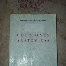 Libros de segunda mano: LECCIONES ANATOMICAS. Lote 41990151
