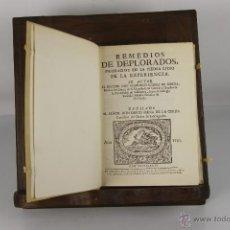 Libros de segunda mano: D-182. REMEDIOS DEPLRADOS. FRANCISCO SUAREZ DE RIBERA. IMP. ALFONSO BALBAS. 1975. . Lote 42107433