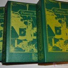 Libros de segunda mano: PLANTAS MEDICINALES. TOMOS I, II Y III TRES TOMOS. RM65090. Lote 42251716