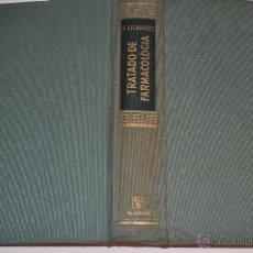 Libros de segunda mano: TRATADO DE FARMACOLOGÍA. FRITZ EICHHOLTZ RM65119. Lote 42341841
