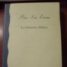 Libros de segunda mano: LA HISTORIA CLINICA, PEDRO LAIN ENTRALGO. Lote 42413309