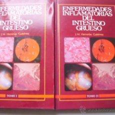 Libros de segunda mano: ENFERMEDADES INFLAMATORIAS DEL INTESTINO GRUESO (2 VOLÚMENES) HERRERÍAS GUTIÉRREZ, J.M. 1982. Lote 42682497