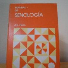 Libros de segunda mano: MANUAL DE SENOLOGÍA. PONS, J. Y. MASSON 1988.. Lote 42735700