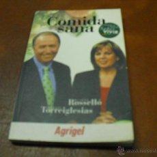 Libros de segunda mano: LIBRO: COMIDA SANA.- CON 250 RESPUESTAS PARA NUESTRAS PREGUNTAS-. Lote 43157839