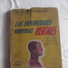Libros de segunda mano: LAS ENFERMEDADES NERVIOSAS MENTALES POR J.M. FONTANALS . Lote 43317331