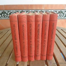 Libros de segunda mano: REVISTA ESPAÑOLA DE ESTOMATOLOGIA EN 6 TOMOS ENCUADERNADOS AÑOS 1970 1971 1972 1973 1974 1975. Lote 180497065