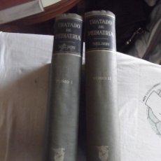 Libros de segunda mano: TRATADO DE PEDIATRIA POR WALDO E. NELSON - 2 TOMOS . Lote 43851384