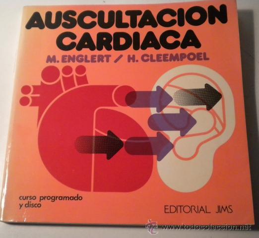 auscultación cardiaca - con disco de vinilo - Comprar Libros de ...
