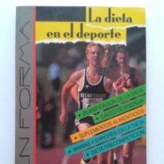 Libros de segunda mano: LA DIETA EN EL DEPORTE - WILL PAISH - TUTOR - 1990. Lote 58490010