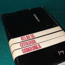 Libros de segunda mano: ATLAS DE CITOLOGIA SANGUINEA - FORTEZA BOVER. TORAY. BARCELONA 1963. MUY ILUSTRADO. HEMATOLOGIA --. Lote 44314715