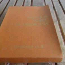Libros de segunda mano: PREMIOS NOBEL DE MEDICINA DE ANTIBIOTICOS SA LAS 10 CARPETAS 101 FICHAS COMPLETO. Lote 44354595