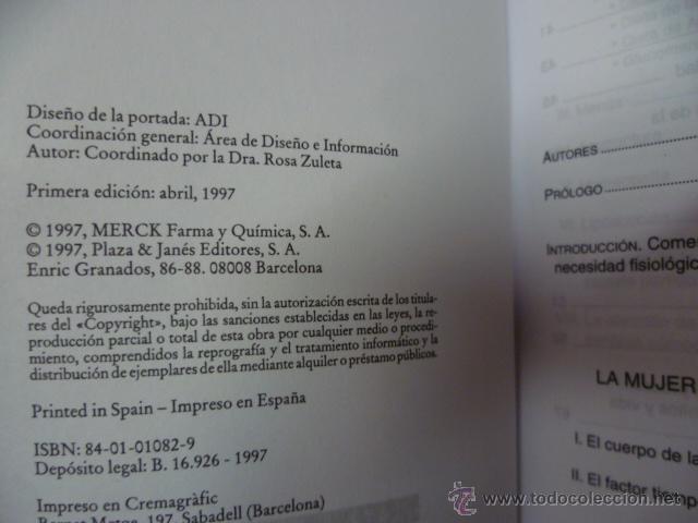 Libros de segunda mano: PERDER PARA GANAR-DRA.ROSA ZULETA - 1ª edición - Foto 2 - 44655466