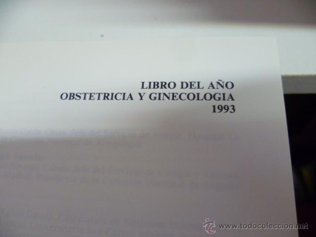Libros de segunda mano: LIBRO DEL AÑO--OBSTETRICIA Y GINECOLOGIA 1993--SANED - Foto 2 - 44675096