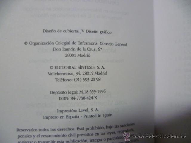 Libros de segunda mano: Orientacion profesional en Enfermeria. Busqueda de empleo. 1996 - Foto 2 - 44915425