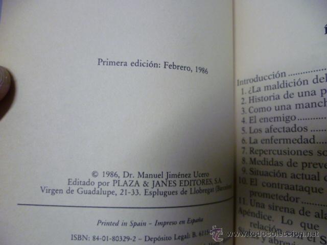 Libros de segunda mano: Sida, ¿hasta cuando? 1ª edicion febrero 1986, 208 paginas - Foto 2 - 44925394
