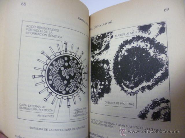 Libros de segunda mano: Sida, ¿hasta cuando? 1ª edicion febrero 1986, 208 paginas - Foto 4 - 44925394