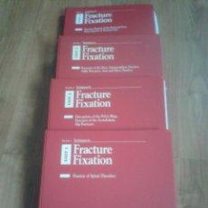 Libros de segunda mano: TECNIQUES IN FRACTURE FIXATION. EDITOR: TIMOTHY J. BRAY, MD. 4 VOLÚMENES. TODOS CON DIAPOSITIVAS.. Lote 45244201