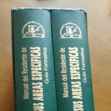 Libros de segunda mano: MANUAL DEL RESIDENTE DE PEDIATRIA Y SUS AREAS ESPECIFICAS, GUIA FORMATIVA / TOMOS I Y II. Lote 45618705