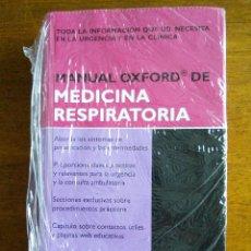 Libros de segunda mano: MANUAL OXFORD DE MEDICINA RESPIRATORIA /// STEPHEN CHAPMAN /// 2007. Lote 190895267