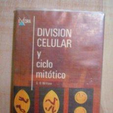 Libros de segunda mano: DIVISION CELULAR Y CICLO MITOLOGICO. Lote 45895884