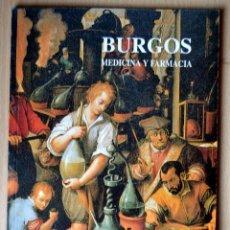 Libros de segunda mano: BURGOS. MEDICINA Y FARMACIA. Lote 45965929