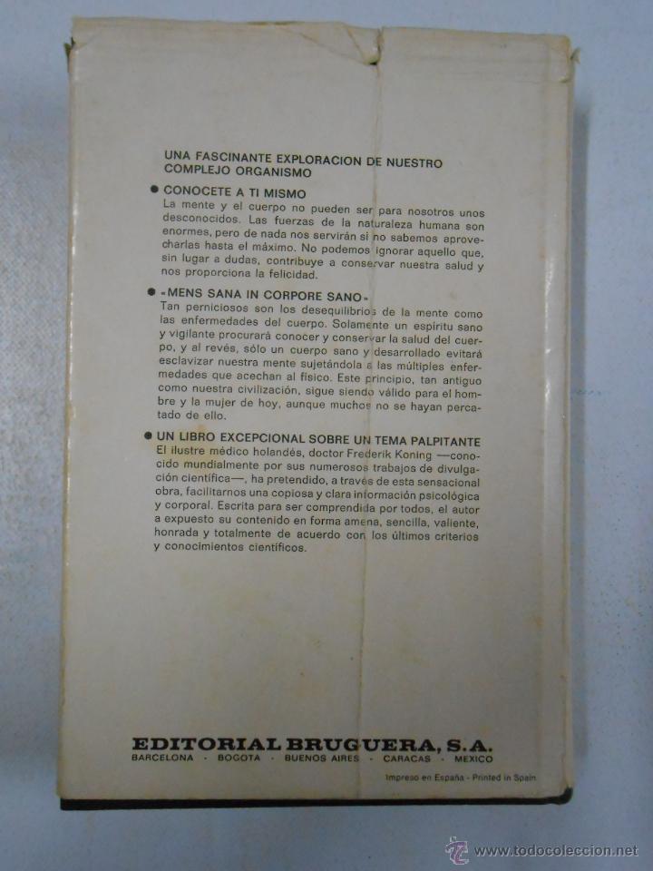 Libros de segunda mano: TU MENTE Y TU CUERPO. DR. FREDERIK KONING. TDK209 - Foto 2 - 46173714