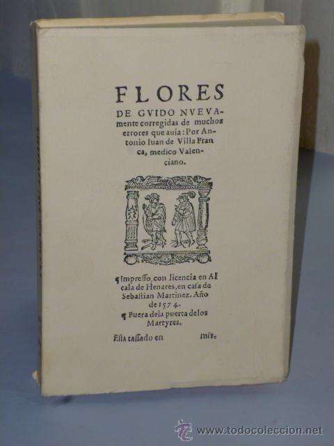 FLORES DE GUIDO DE GUY DE CHAULIAC (ALCALÁ 1574) (Libros de Segunda Mano - Ciencias, Manuales y Oficios - Medicina, Farmacia y Salud)
