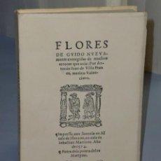 Libros de segunda mano: FLORES DE GUIDO DE GUY DE CHAULIAC (ALCALÁ 1574). Lote 46199133
