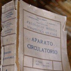 Libros de segunda mano: APARATO CIRCULATORIO. Lote 46365318