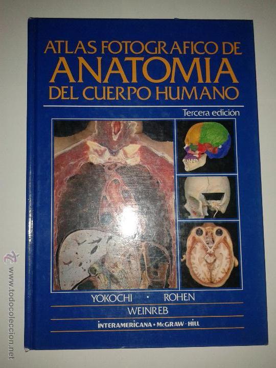 atlas fotográfico de anatomía del cuerpo humano - Comprar Libros de ...