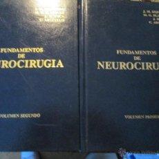 Libros de segunda mano: FUNDAMENTOS DE NEUROCIRUGIA . Lote 47075723