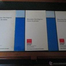 Libros de segunda mano: MANUALES ONCOLOGICOS. Lote 47077833