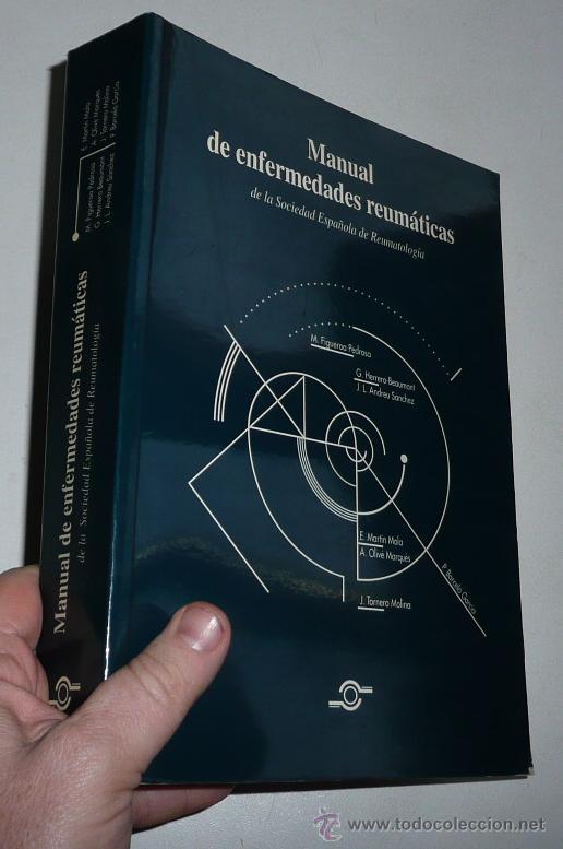 MANUAL DE ENFERMEDADES REUMÁTICAS - SOCIEDAD ESPAÑOLA DE REUMATOLOGÍA (1996) (Libros de Segunda Mano - Ciencias, Manuales y Oficios - Medicina, Farmacia y Salud)