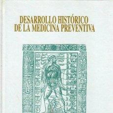 Libros de segunda mano: DESARROLLO HISTÓRICO DE LA MEDICINA PREVENTIVA PROF DR MIGUEL CORDERO DEL CASTILLO CONTAGIO HIGIENE. Lote 241097335