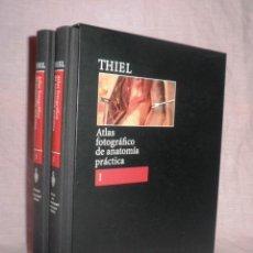 Libros de segunda mano: ATLAS FOTOGRAFICO DE ANATOMIA PRACTICA - THIEL - MONUMENTAL OBRA·IMPRESIONANTES FOTOGRAFIAS.. Lote 47439964