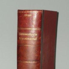 Libros de segunda mano: TERAPÉUTICA CON FUNDAMENTOS FARMACOLOGÍA EXPERIMENTAL. 1942. Lote 47612126