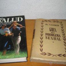 Libros de segunda mano: LOTE 2 LIBROS LA SALUD ENCICLOPEDIA MEDICA FAMILIAR. Lote 47663997