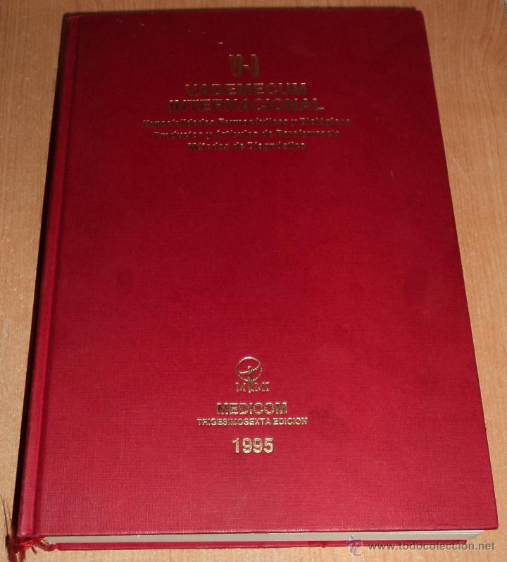 VADEMÉCUM INTERNACIONAL 1995 TRIGESIMOSEXTA EDICIÓN. (Libros de Segunda Mano - Ciencias, Manuales y Oficios - Medicina, Farmacia y Salud)