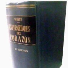 Libros de segunda mano: ENFERMEDADES DEL CORAZÓN. WHITE, PAUL D. 1946. Lote 47897662