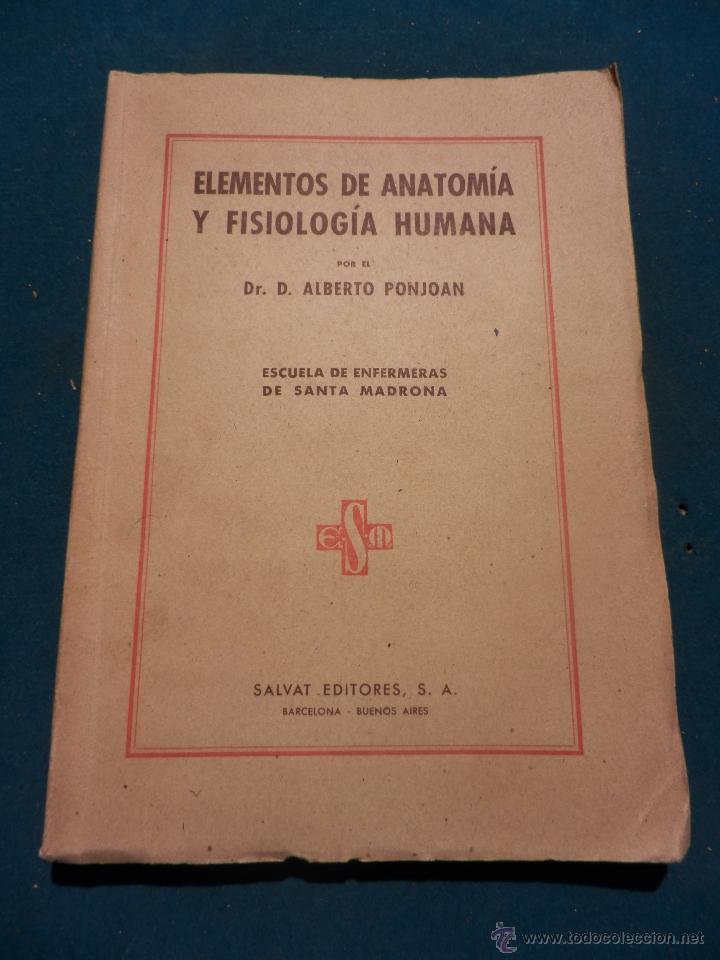 elementos de anatomía y fisiología humana - alb - Comprar Libros de ...