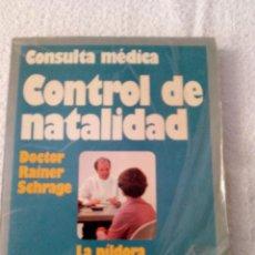 Libros de segunda mano: CONTROL DE NATALIDAD. Lote 48674314