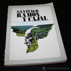 Libros de segunda mano: CAMINOS ABIERTOS POR SANTIAGO RAMON Y CAJAL, 1977, LIBRO ILUSTRADO. Lote 48981300