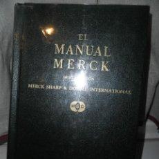 Libros de segunda mano: EL MANUAL MERCK DE DIAGNOSTICO Y TERAPEUTICA, SEXTA EDICION .ROBERT BERKOW 1978. Lote 49101531