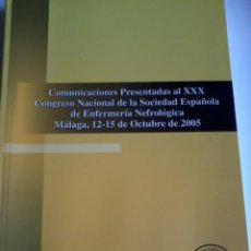 Libros de segunda mano: COMUNICACIONES PRESENTADAS AL XXX CONGRESO N. DE LA COCIEDAD ESP. DE ENFERM. NEFROLÓCIA. EST10B5. Lote 49141595