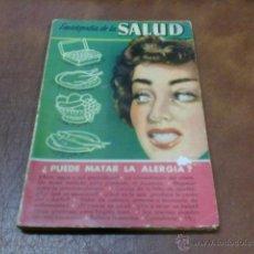 Libros de segunda mano: LIBRO Nº 1 ENERO 1955.-ENCICLOPEDIA DE SALUD.-¿PUEDE MATAR LA ALERGIA?. Lote 49274656