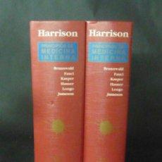 Libros de segunda mano: PRINCIPIOS DE MEDICINA INTERNA-15ª EDICION-MC GRAW HILL-AÑO 2003-MADRID- 2 TOMOS LM13. Lote 49553296