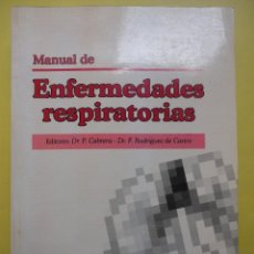 Libros de segunda mano: MANUAL DE ENFERMEDADES RESPIRATORIAS. PROUS SCIENCE. Lote 50104066