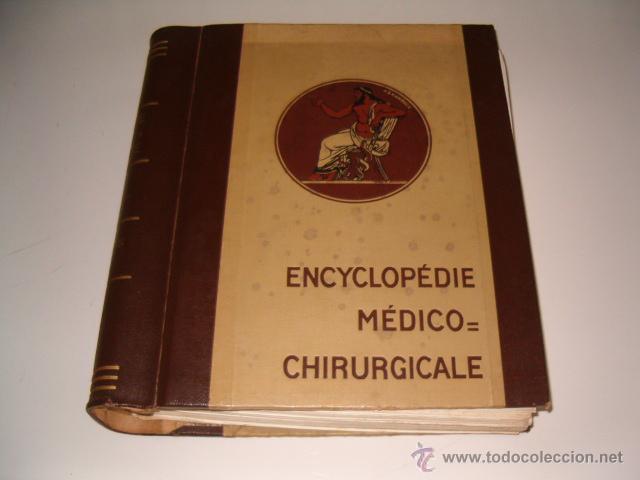 VV.AA. ENCYCLOPÉDIE MÉDICO-CHIRURGICALE. OS. ARTICULATIONS. FRACTURES. LUXATIONS. RM70045. (Libros de Segunda Mano - Ciencias, Manuales y Oficios - Medicina, Farmacia y Salud)