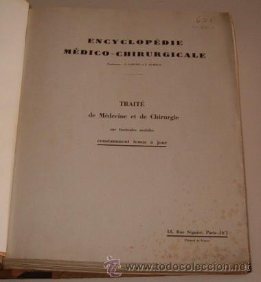 Libros de segunda mano: VV.AA. Encyclopédie Médico-Chirurgicale. Os. Articulations. Fractures. Luxations. RM70045. - Foto 2 - 50271750