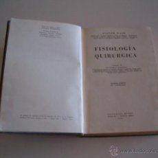 Libros de segunda mano: JOSEPH NASH. FISIOLOGÍA QUIRÚRGICA. RM70159. . Lote 50303469